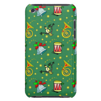 Christmas – French Horns & Magenta Drums Barely There iPod Case