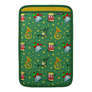 Christmas – French Horns & Magenta Drums Sleeve For MacBook Air