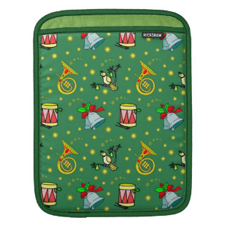 Christmas – French Horns & Magenta Drums iPad Sleeves