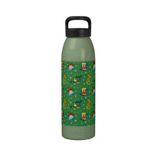 Christmas – French Horns & Magenta Drums Reusable Water Bottles