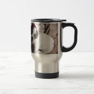 Christmas Frenchie Travel Mug