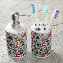 """Christmas Frenzy"" � Toothbrush and Soap Set"