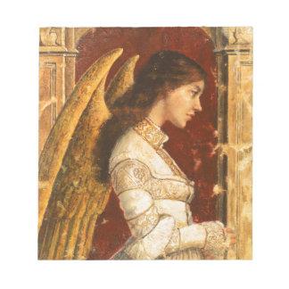 Christmas Fresco Angel Notepad
