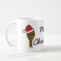 Christmas Fried Chicken Leg Coffee Mug