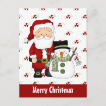Christmas Friends holiday greeting card