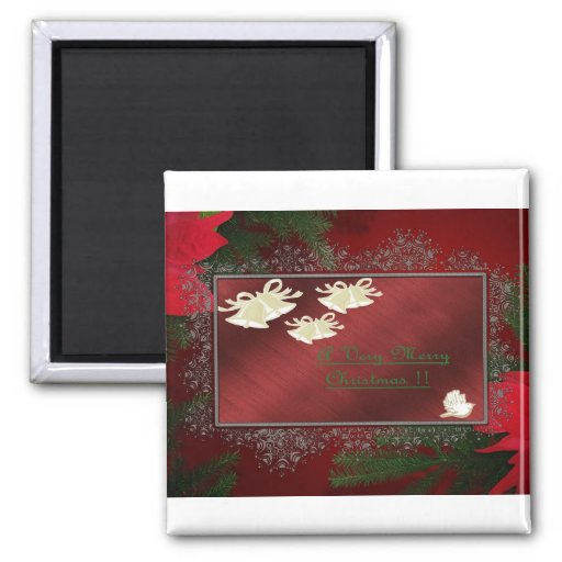 Christmas Frig Magnet! 2 Inch Square Magnet