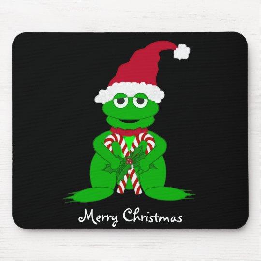 Christmas Frog Mousepad
