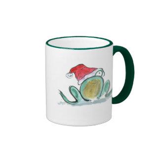 Christmas Frog, Sumi-e Mug