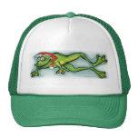 Christmas Frog Trucker Hat