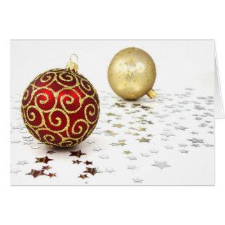 Christmas Fröhliche Weihnachten II Greeting Card