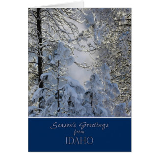 Christmas from Idaho Card