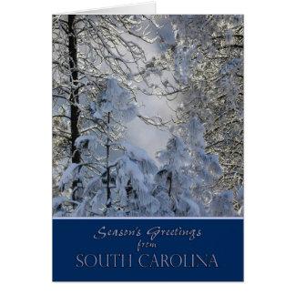 Christmas from South Carolina Card