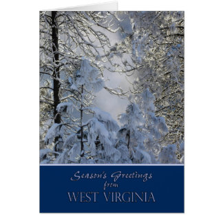 Christmas from West Virginia Card