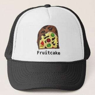 Christmas Fruit Cake Fruitcake Slice Food Holiday Trucker Hat