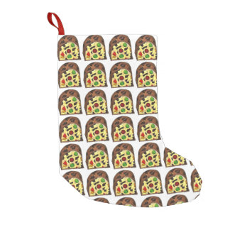 Christmas Fruit Cake Fruitcake Slice Stocking