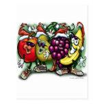 Christmas Fruit Post Card
