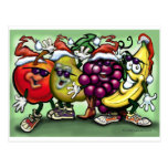 Christmas Fruit Post Cards