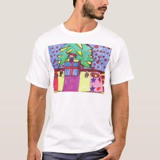 Christmas fun, gifts under the tree T-Shirt