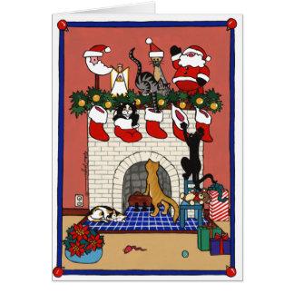 CHRISTMAS FUN GREETING CARDS