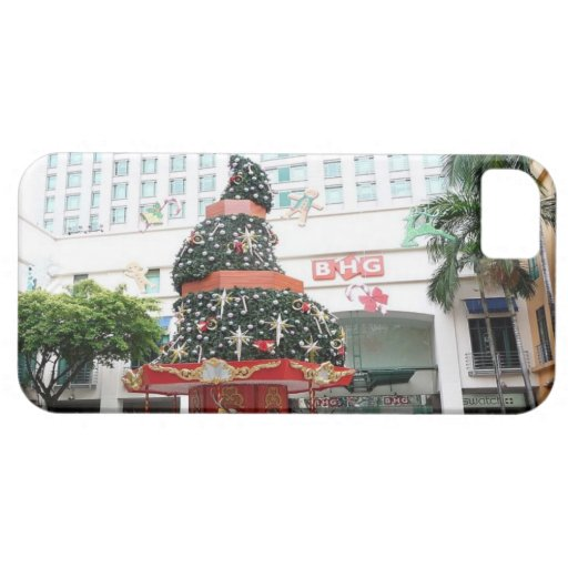 Christmas fun in Singapore iPhone 5 Case