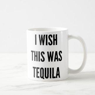 Christmas funny I wish this was tequila Coffee Mug