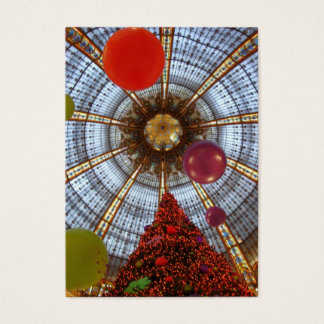 Christmas • Galeries Lafayette Business Card