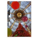 Christmas • Galeries Lafayette Dry-Erase Board