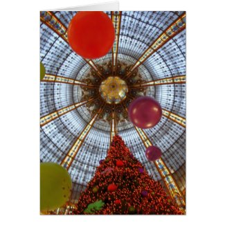 Christmas • Galeries Lafayette Greeting Card