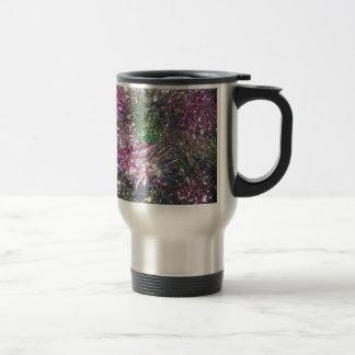 Christmas Garland Sparkle Travel Mug
