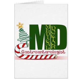 CHRISTMAS GASTROENTEROLOGIST CARD