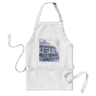 Christmas gazebo adult apron