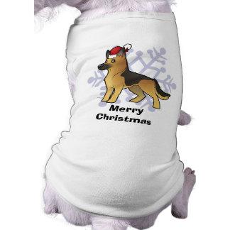 Christmas German Shepherd Pet T Shirt