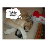Christmas German Shepherd Post Cards