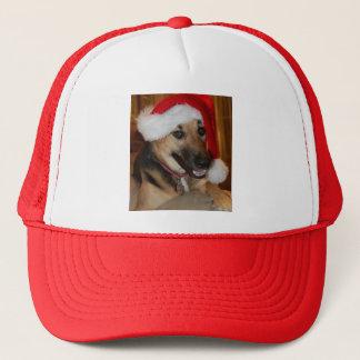Christmas German Shepherd Trucker Hat