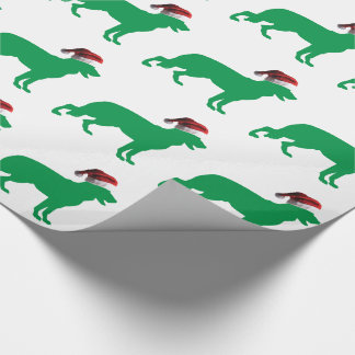 Christmas German Shepherd Wrapping Paper