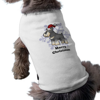 Christmas Giant/Standard/Miniature Schnauzer Shirt
