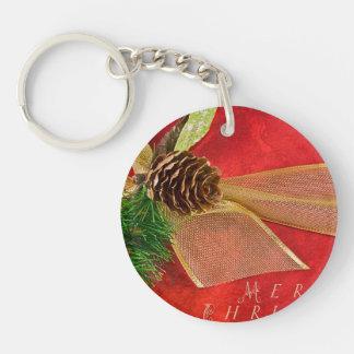 Christmas Gift Acrylic Key Chain