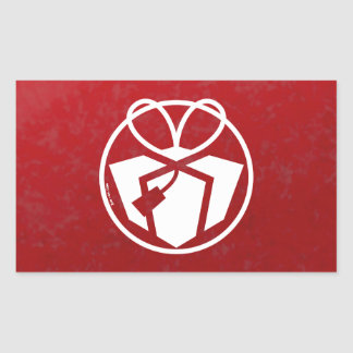 Christmas Gift Avatar Rectangular Stickers