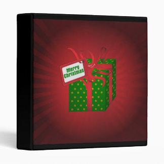Christmas Gift Binder