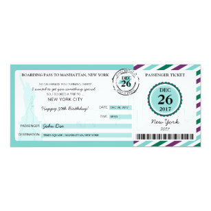 Christmas Boarding Pass Gifts On Zazzle