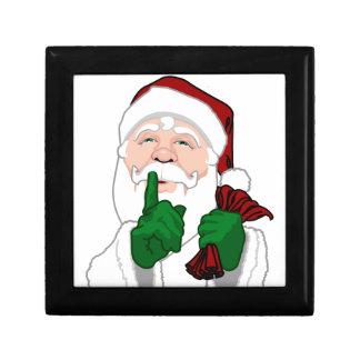 Christmas Gift Box Custom Santa Clause Jewelry Box