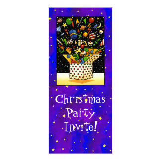 Christmas Gift Box Personalized Invites