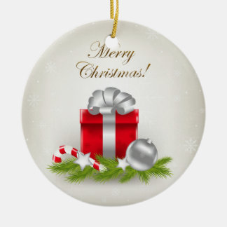 Christmas Gift Ceramic Ornament