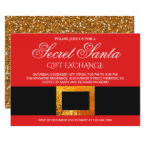 Christmas Gift Exchange Party Secret Santa Invite