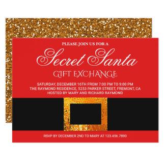 Christmas Gift Exchange Party Secret Santa Invite