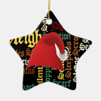 Christmas gift Have a Nice Day & a Better Night Ceramic Ornament