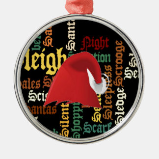 Christmas gift Have a Nice Day & a Better Night Metal Ornament