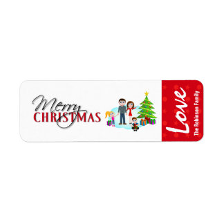 Christmas Gift Label Stickers