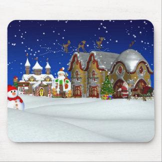 Christmas Gift Mousepad Mousemat North Pole