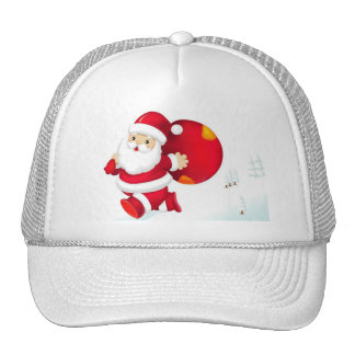 CHRISTMAS GIFT PERSONALIZE IT HOLIDAYS TRUCKER HATS
